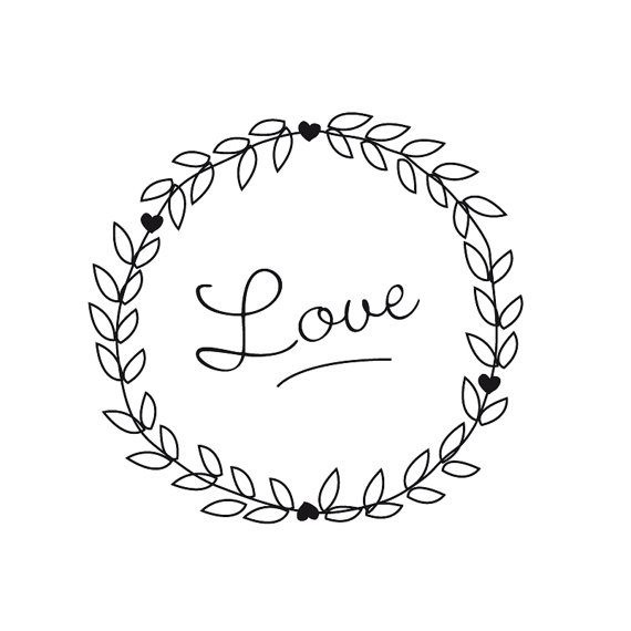 Wedding clip art graphic to .