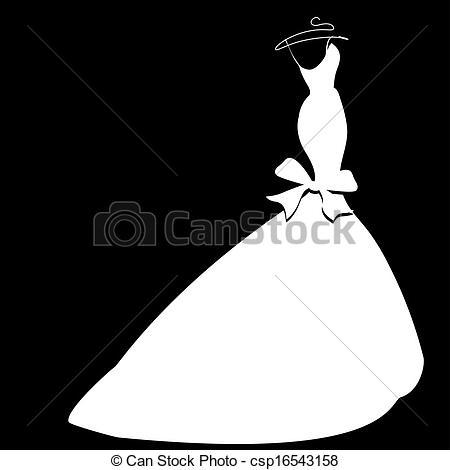 Wedding Dress Clipart ...-wedding dress Clipart ...-15