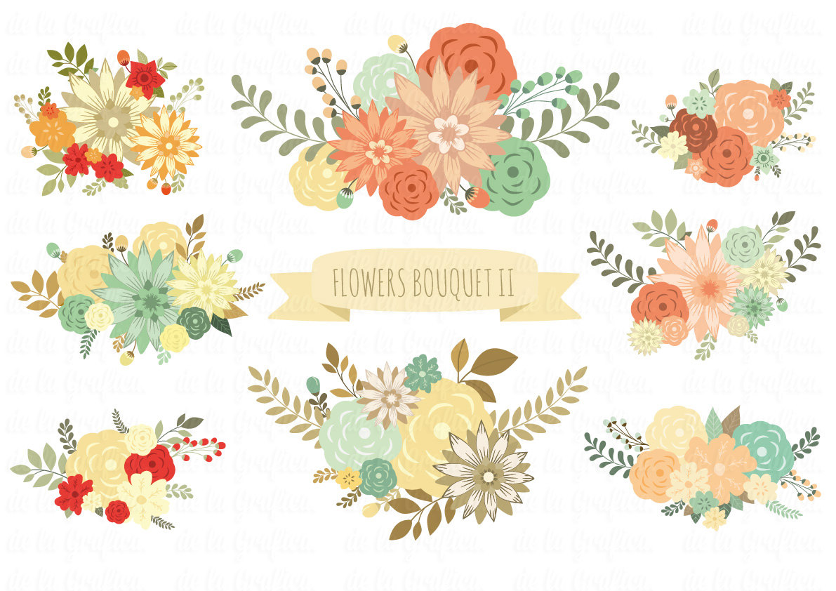 Wedding Floral Clipart-Wedding Floral Clipart-19