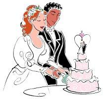 wedding party clipart
