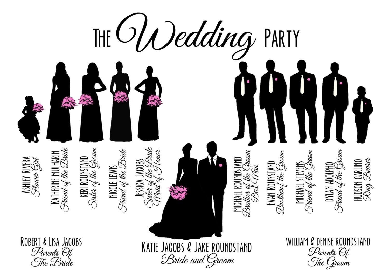 Wedding party silhouette clip art free --Wedding party silhouette clip art free - ClipartFest-5
