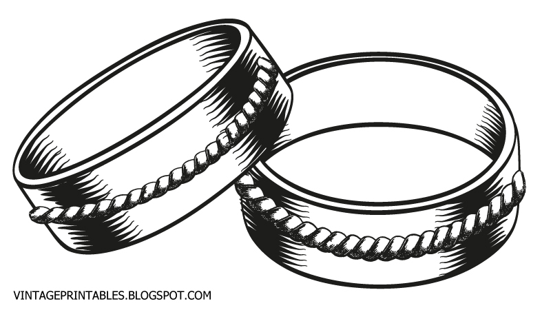 Wedding Ring Clipart 2 .-Wedding ring clipart 2 .-19