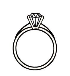 Wedding ring engagement ring cartoon clip art 9 engagement rings - Clipartix