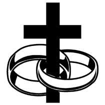 Wedding Rings With Cross Clipart-Wedding rings with cross clipart-16
