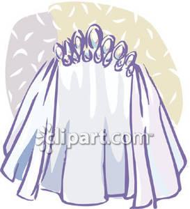 Wedding Veil Cartoon