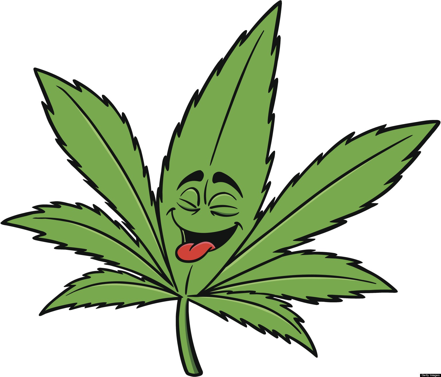 ... Weed Leaf Clip Art - clipartall ...