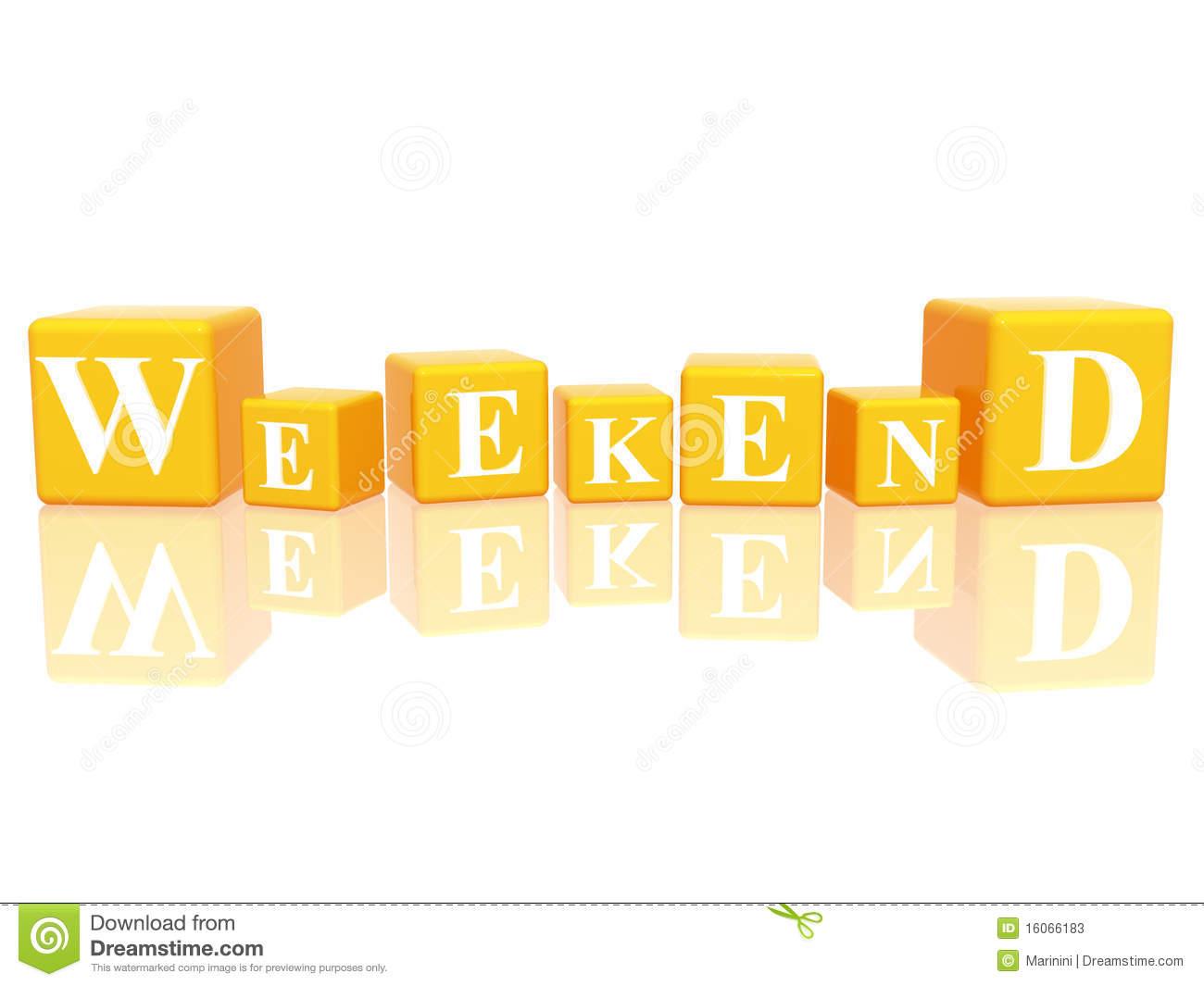 weekend clipart
