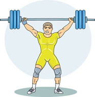 Weight Lifting Clip Art. Free Sports-Weight Lifting Clip Art. Free Sports-15