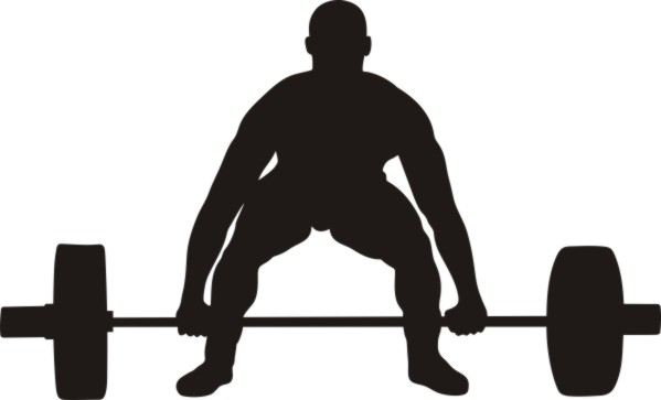 Weight Lifting Silhouette Clip Art-Weight Lifting Silhouette Clip Art-3