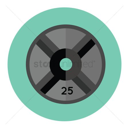 Weight Plates Clipart