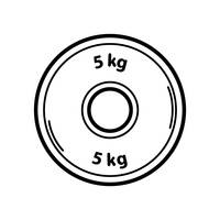 5kg Weight Plate-5kg weight plate-1
