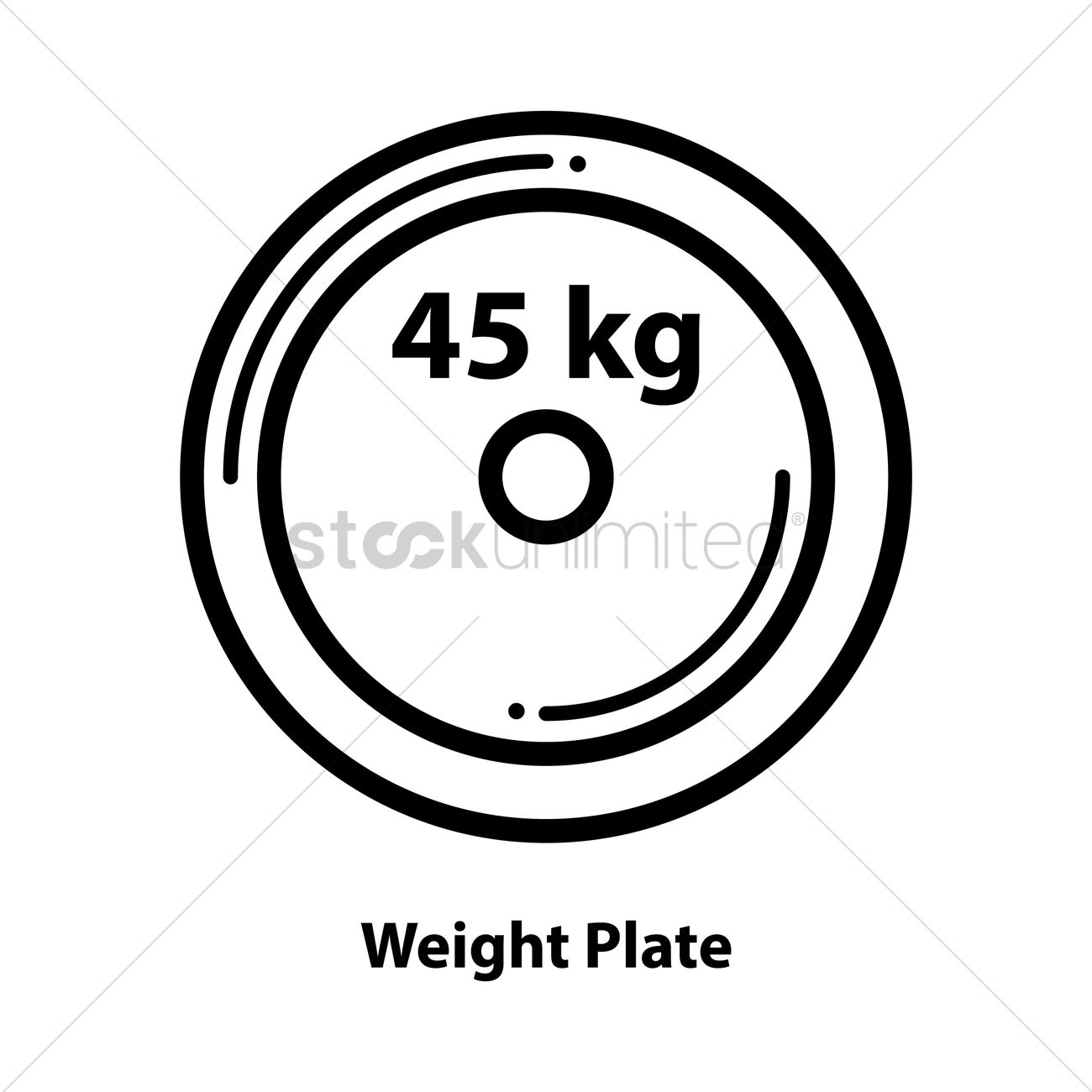 Weight Plate Vector Graphic-weight plate vector graphic-17