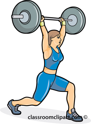 Weightlifting Weightlifting Position 04a-Weightlifting Weightlifting Position 04a Classroom Clipart-17