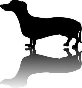 Weiner Dog Clipart Image: .
