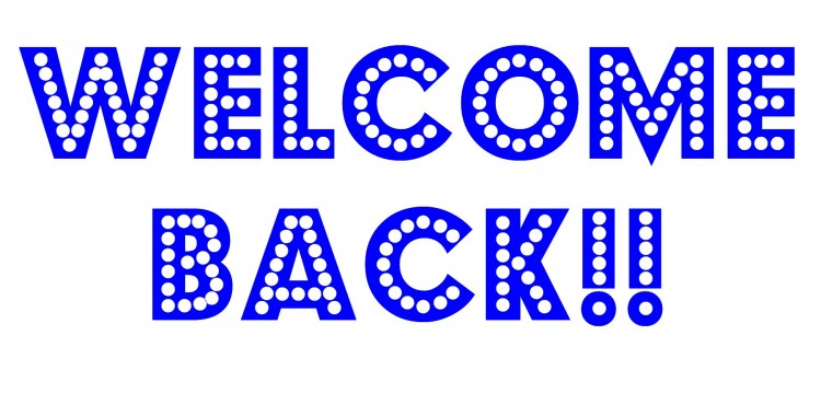 Welcome Back Blue Facebook Co - Welcome Back To Work Clipart