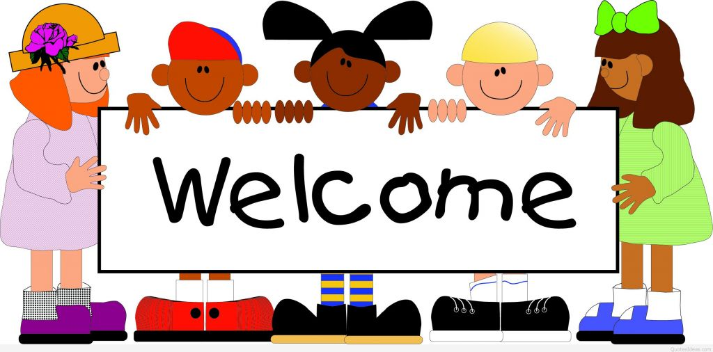 Welcome back to school banner clip art