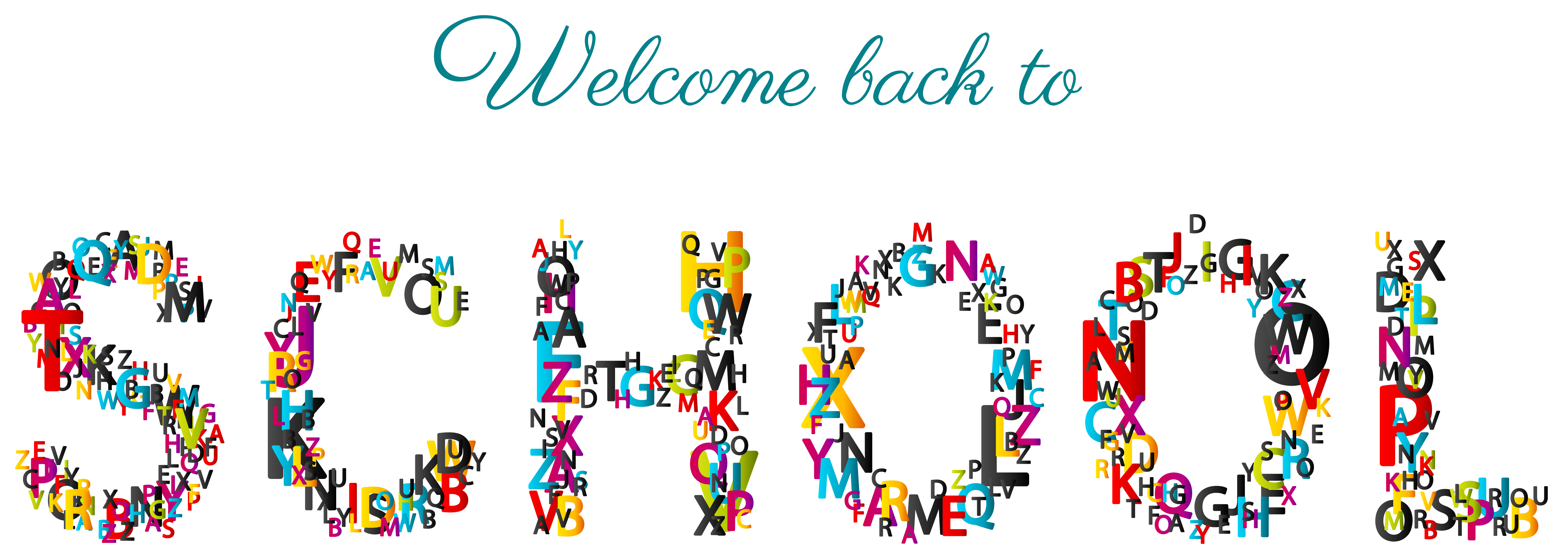 Welcome Back To School Clipart Banner