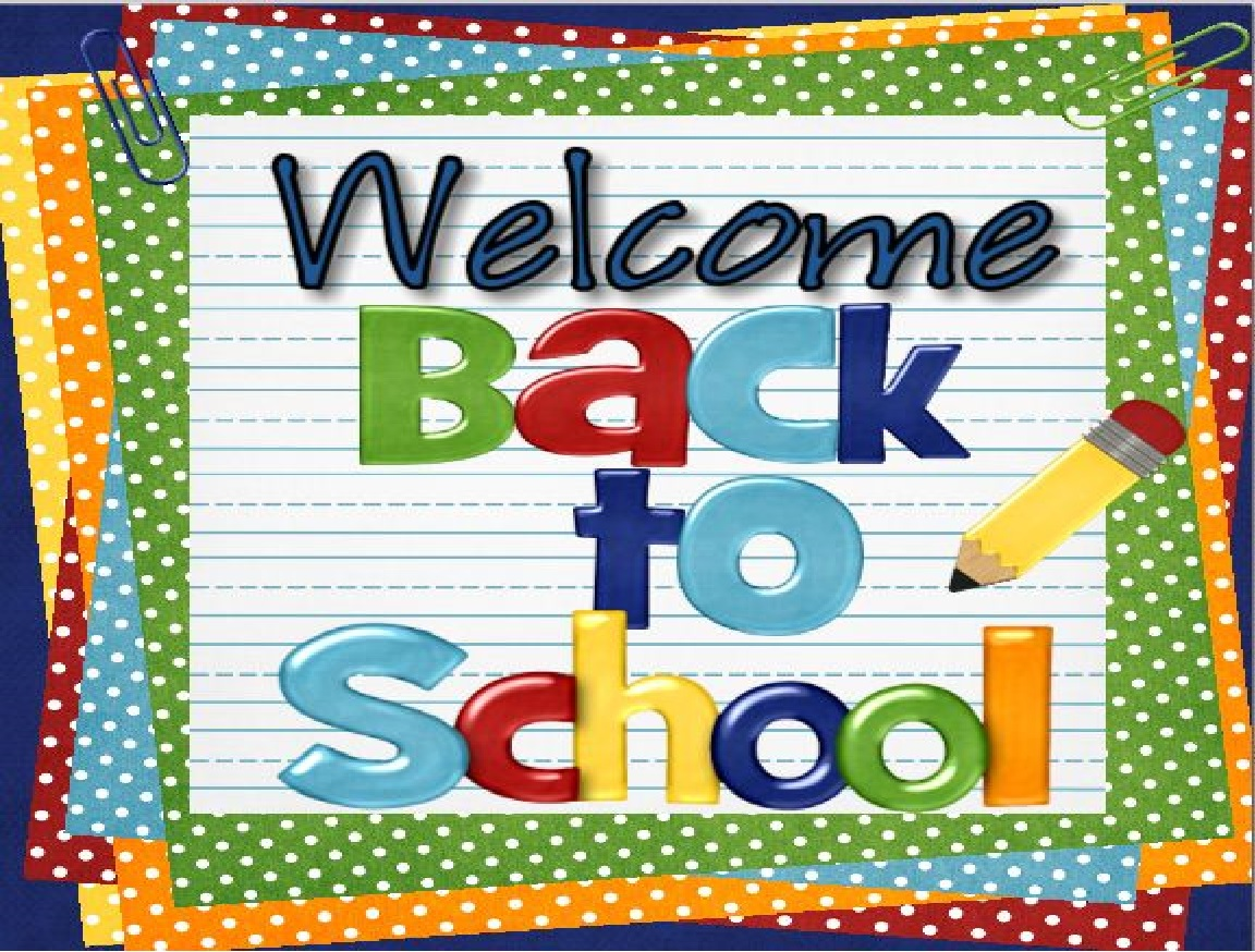 Welcome Back To School Clipart .-welcome back to school clipart .-13