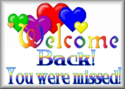 Welcome Back - Welcome Back Clip Art