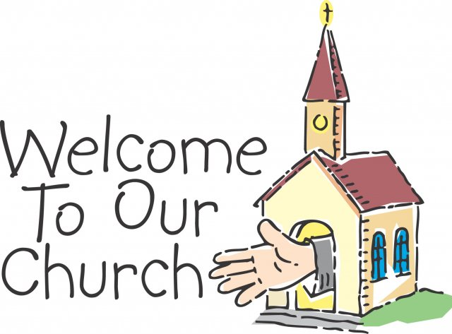 Welcome church visitor clipart free clipart images