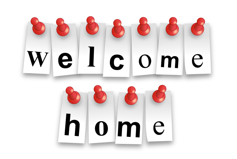 Welcome Home Notes