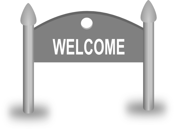 Welcome Sign Clip Art At Clker Com Vecto-Welcome Sign Clip Art At Clker Com Vector Clip Art Online Royalty-6