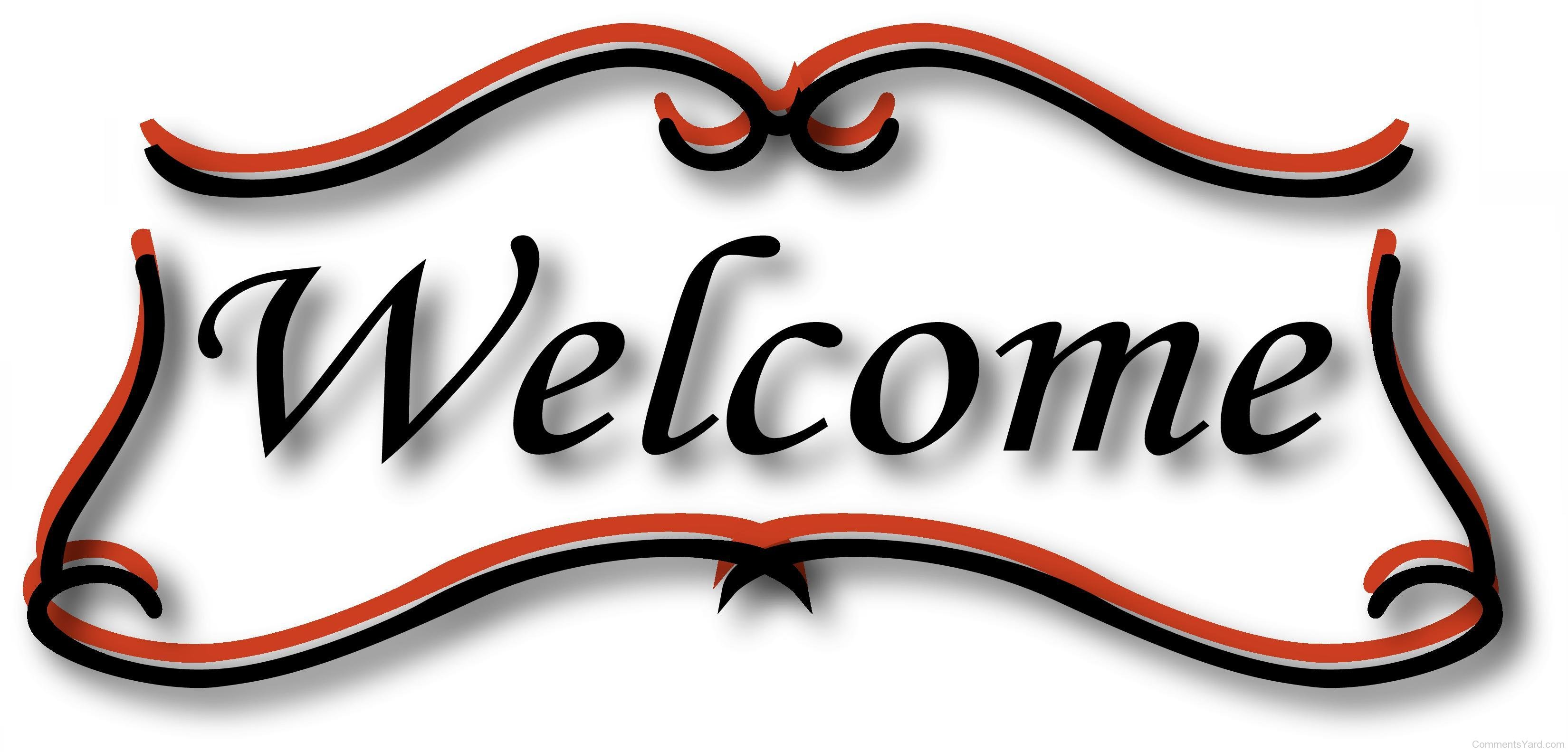Welcome Sign Clipart