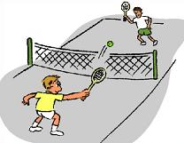 Welcome To All Things Clipart - Tennis Court Clipart