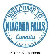 ... Welcome to Niagara Falls stamp - Welcome to Niagara Falls.