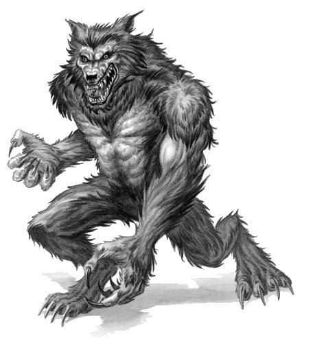 Werewolf clip art images