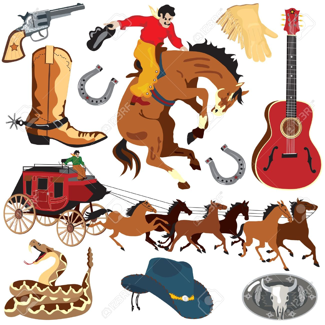 Western Clip Art Vector - ClipartFest-Western clip art vector - ClipartFest-15