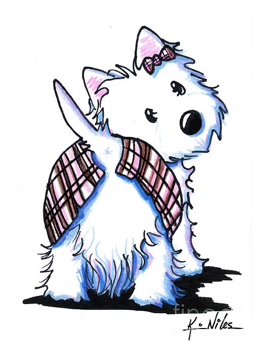westie clip art | New and imp