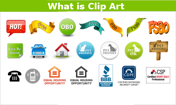 what is clip art