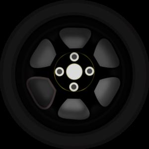 Wheel 3 Clip Art At Clker Com Vector Clip Art Online Royalty Free