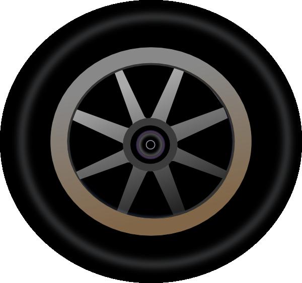 Wheel 4 Clip Art At Clker Com Vector Clip Art Online Royalty Free