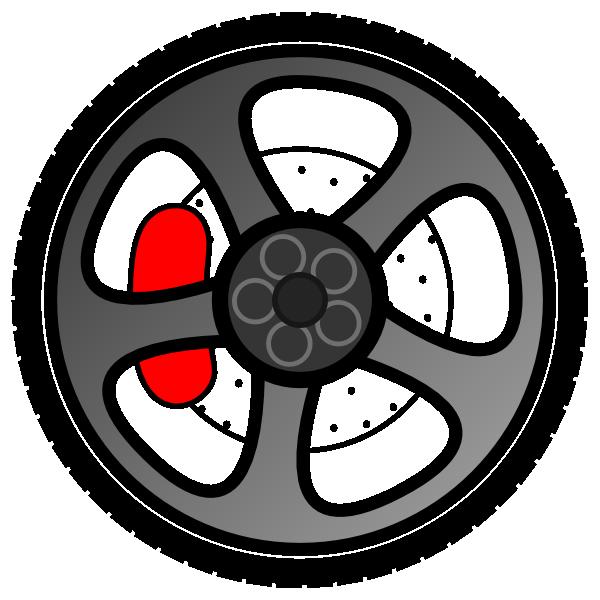 Wheel 8 Clip Art At Clker Com Vector Clip Art Online Royalty Free