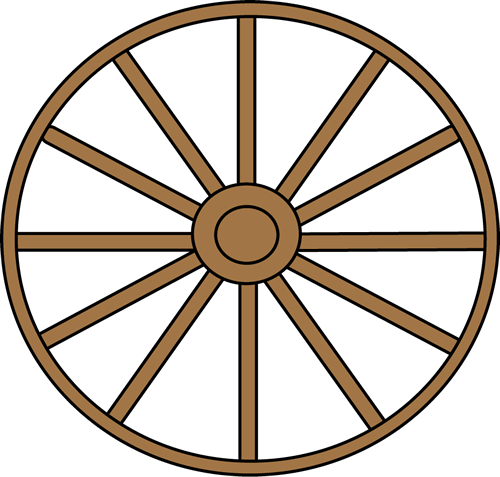 Wagon Wheel Clipart Cliparts