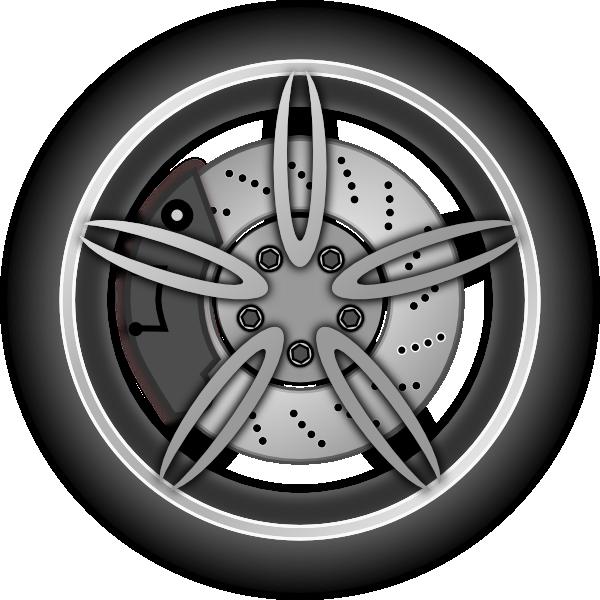 ... vector car wheel black wh
