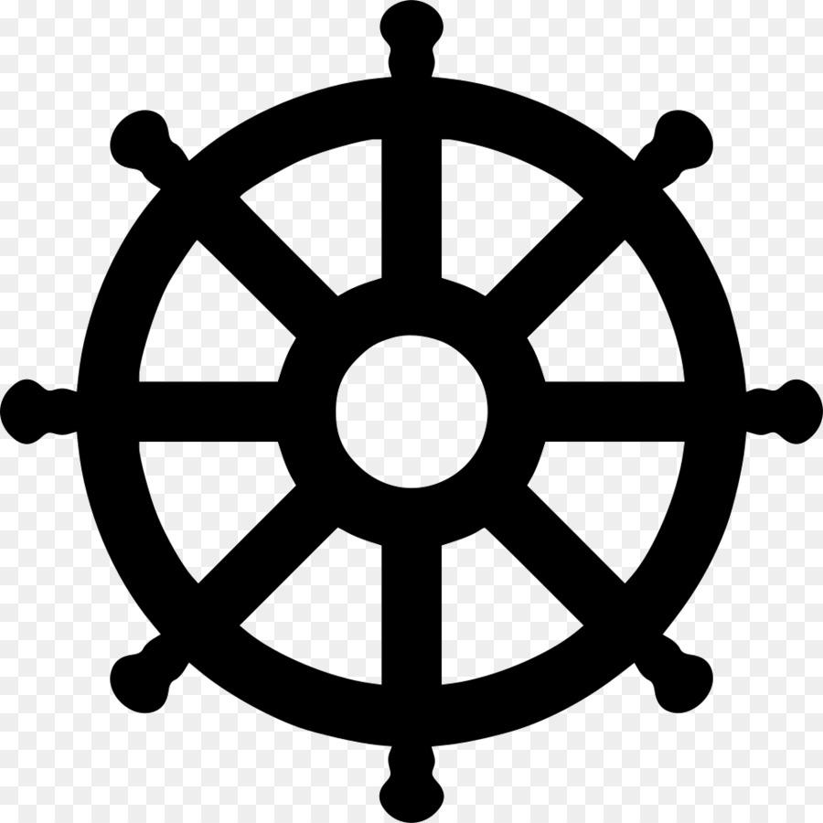 Computer Icons Dharmachakra Clip art - Wheel of Dharma
