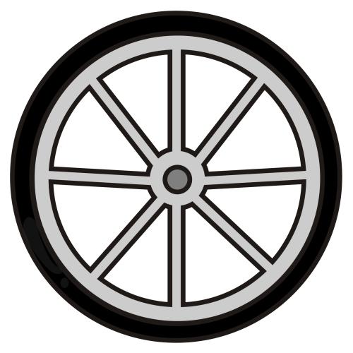 Wheel Rim Clipart-Clipartlook.com-500
