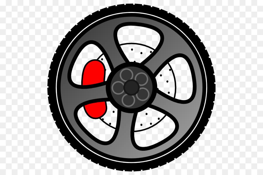 Car Wheel Rim Clip art - Motorcycle Wheel Cliparts