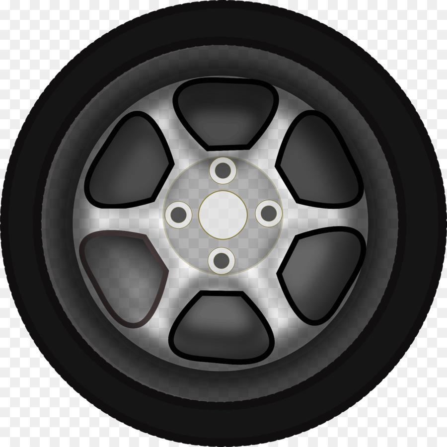 Car Wheel Rim Clip art - tires