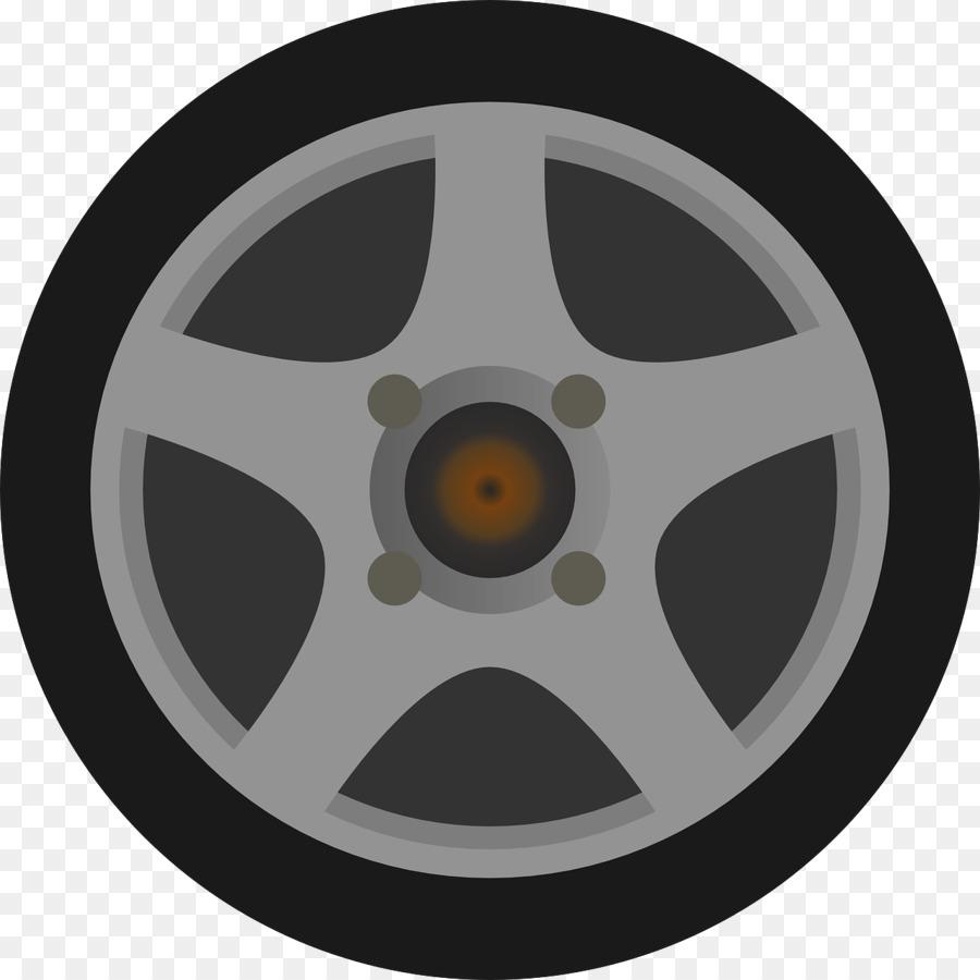 Wheel Rim Car Tire Clip art - On wheels