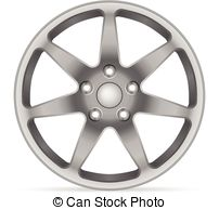 . ClipartLook.com Wheel rim on a white background.