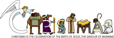 Christmas Religious Clip Art & Look At