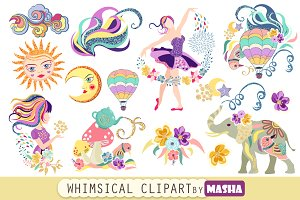 WHIMSICAL clipart-WHIMSICAL clipart-17