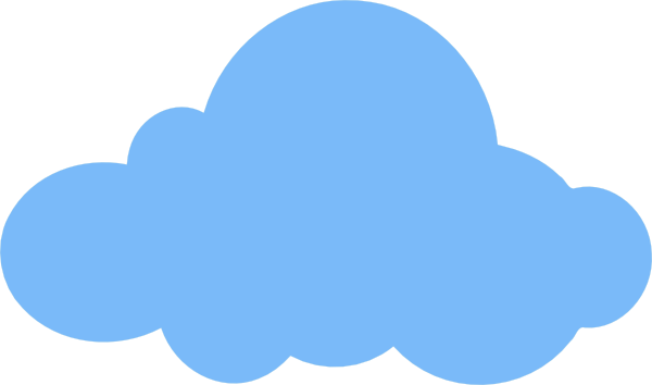 white cloud clipart no% .