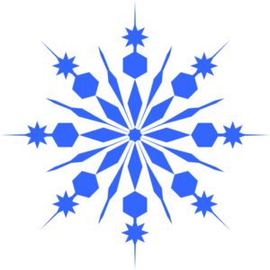 White Snowflake Clipart% .-white snowflake clipart% .-19