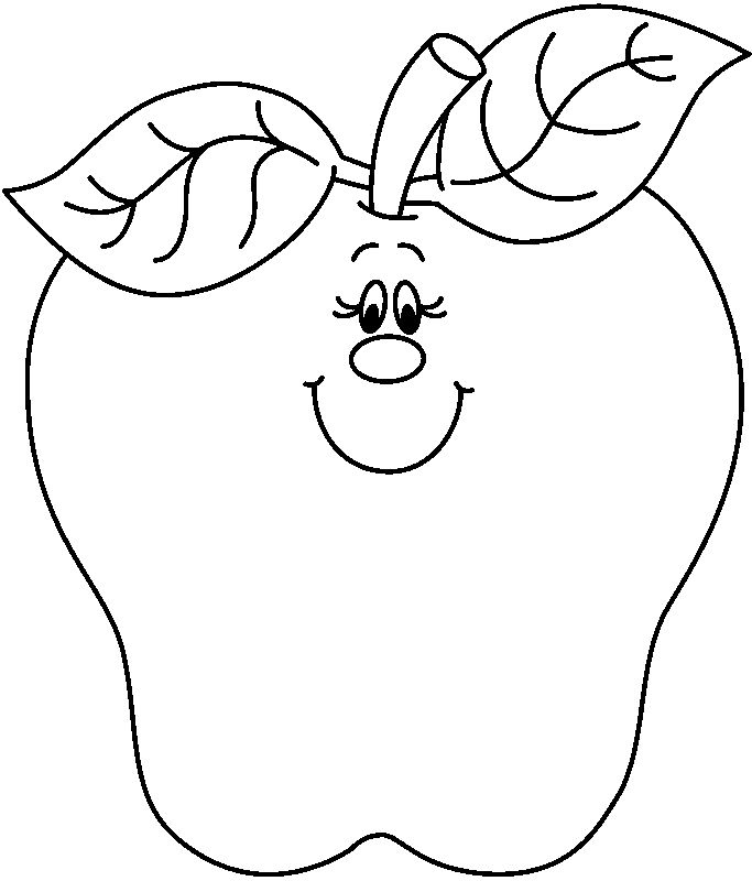 white apple clipart black clip art and
