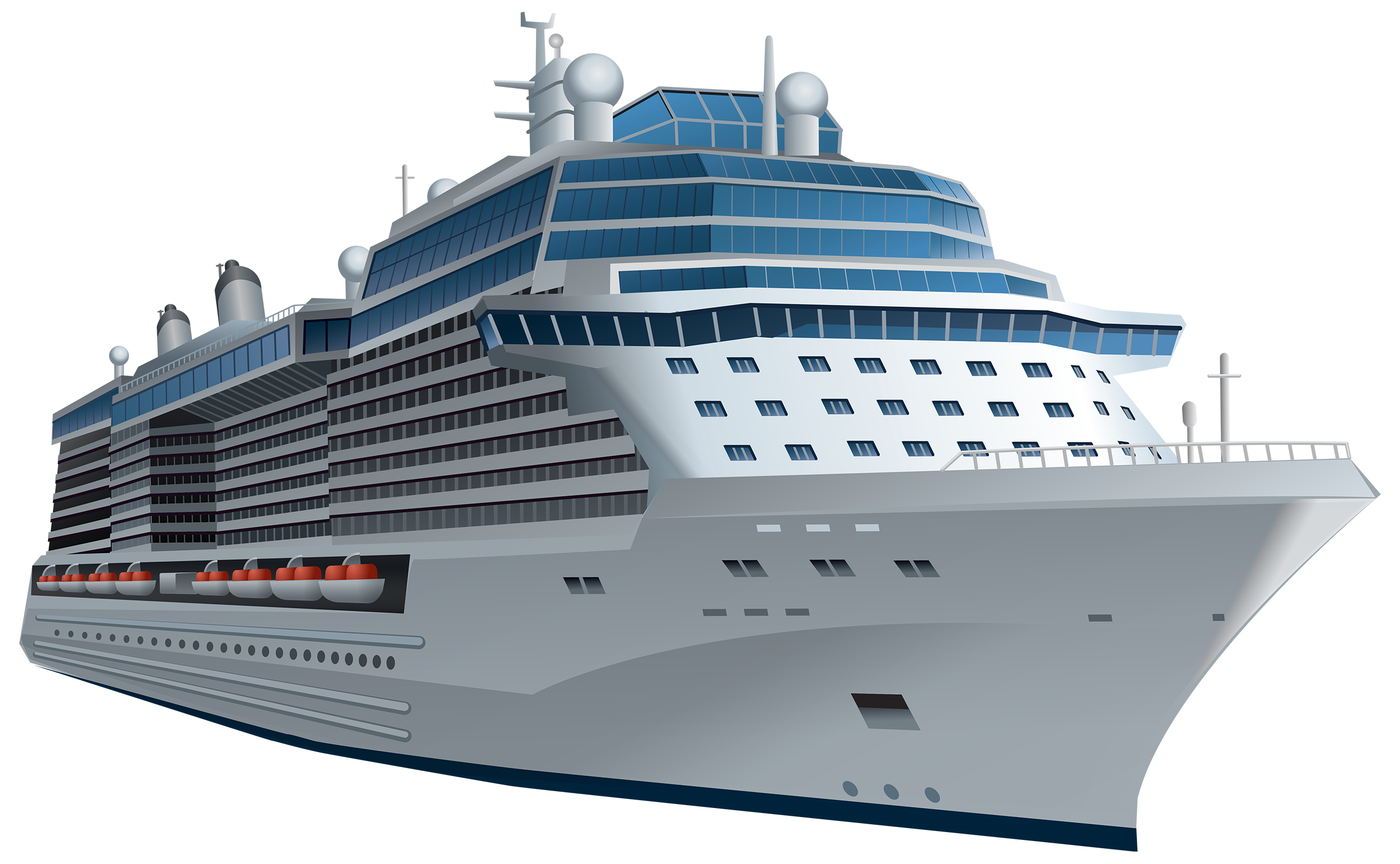 White Cruise Ship PNG Clipart-White Cruise Ship PNG Clipart-19
